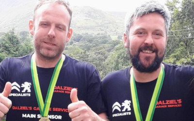 Two local Dads from Dumfries have smashed their National 3 Peaks Challenge To Raise Over £2,500 for Include Us