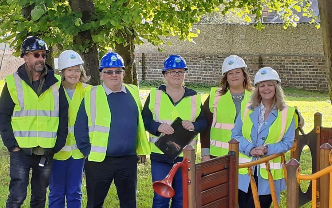 Work Begins at Catherine Street Inclusive Park & Community Garden