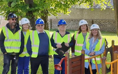 Work Begins at Catherine Street Inclusive Park & Community Garden