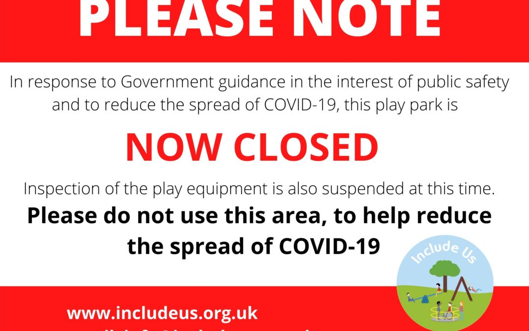 Catherine Street Park Is Now Closed: Covid 19 Update