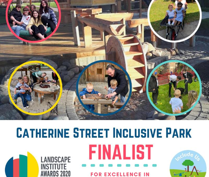 The Park Has Been Shortlisted In The Landscape Institute Awards